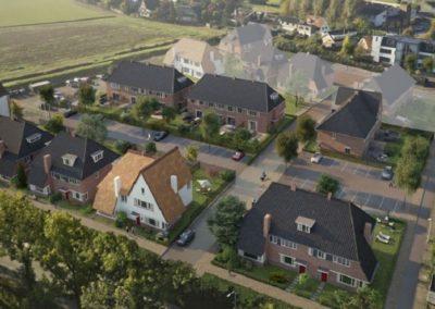 """21 woningen """"Hof van Spui"""" Rhoon"""