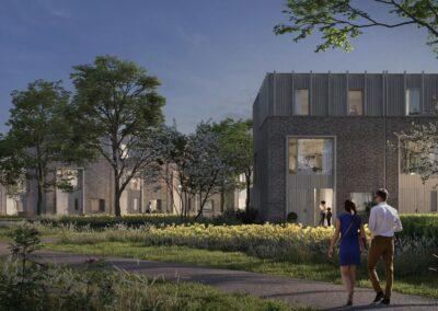 Nieuwbouw 15 woningen Bennebroek